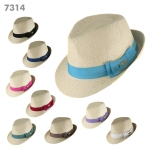 7314 RIBBON FEDORA
